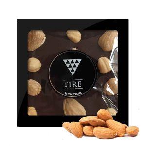 iTRE Pure chocolade blok met hazelnoten & Amandel