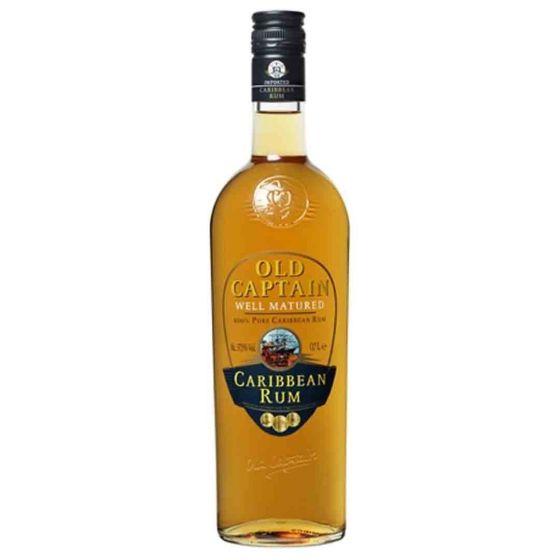 Old Captain Caribbean Rum Brown