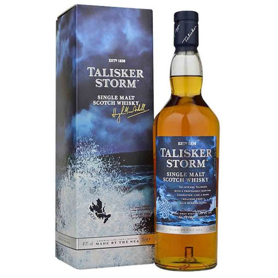 Talisker Storm Whisky in giftbox