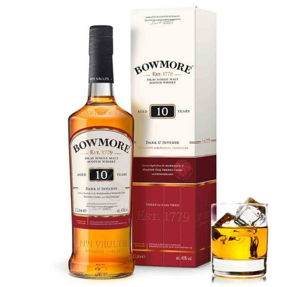 Bowmore 10 Years Whisky in giftbox