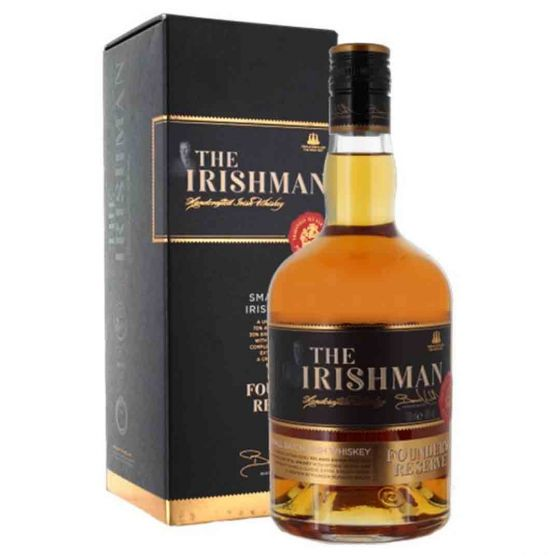 The Irishman Founders Reserve Whisky in giftbox