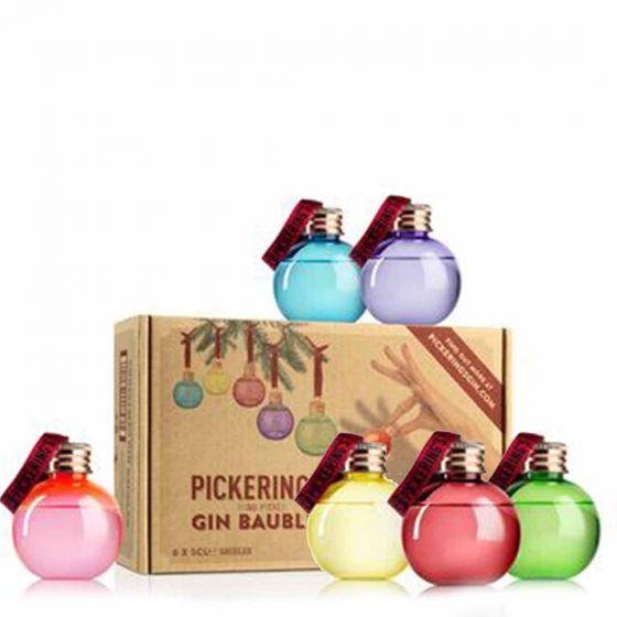 Pickering's Gin kerstballen