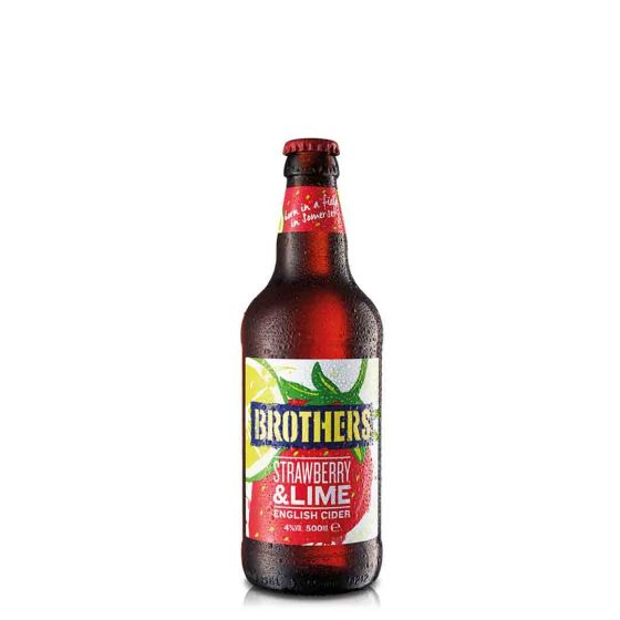 Brothers Cider Strawberry & lime