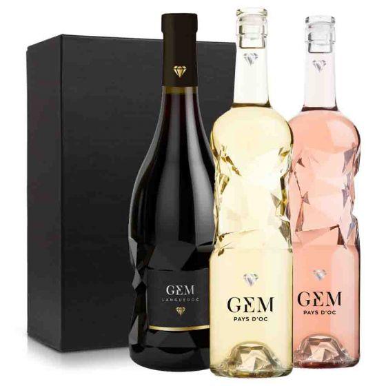 Wijnpakket Frankrijk GEM wijnen (3 flessen)