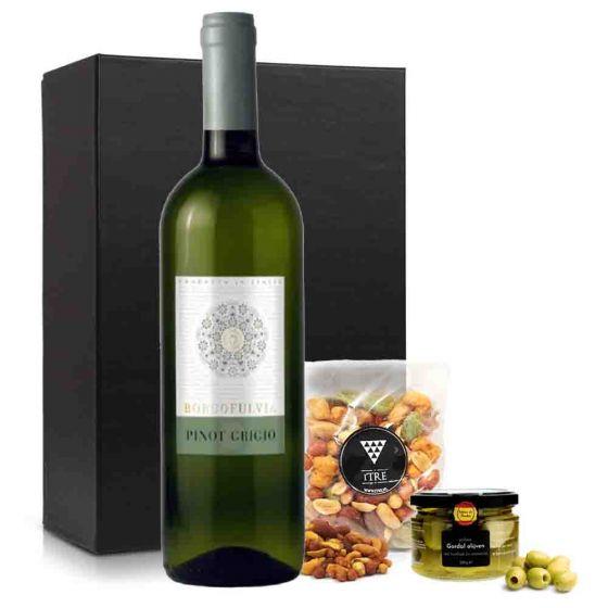 VrijMiBo borrelpakket met witte wijn