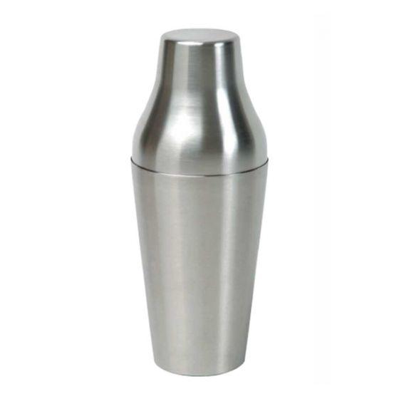 Shaker 560ml 2-delig De Luxe (RVS)