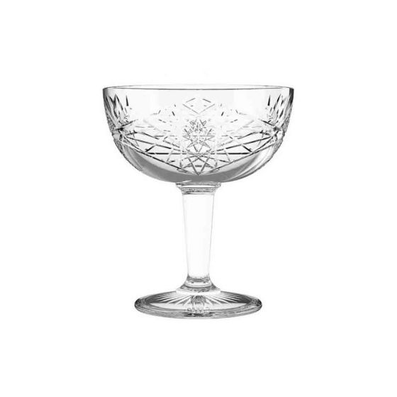 Libbey Hobstar Champagne coupe