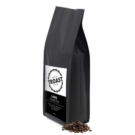 Troast koffiebonen 'lang genieten' 1kg