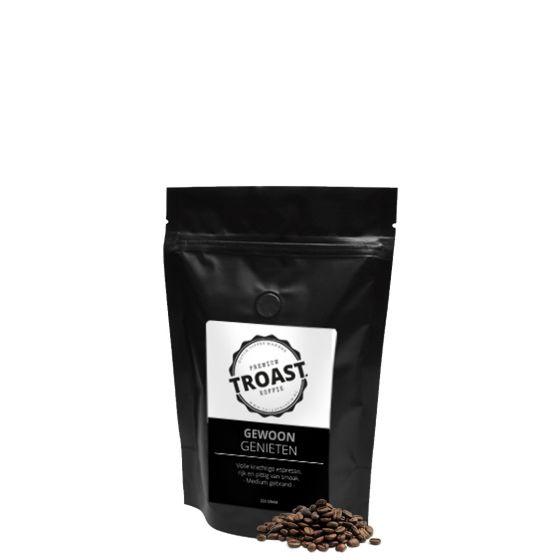 Troast koffiebonen 'gewoon genieten' 250 gram